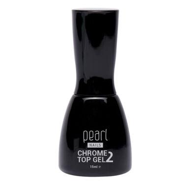 Pearl Nails Chrome 2 Top Gel rugalmas, fixálásmentes fényzselé