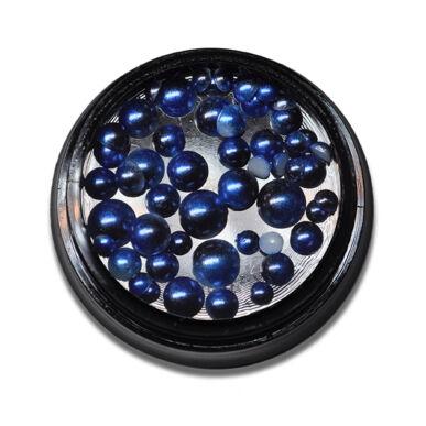 Félgyöngy mix - Kék 6