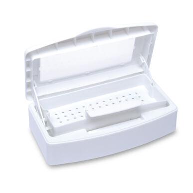 Pearl Nails eszközfertőtlenítő doboz ablakos fedéllel