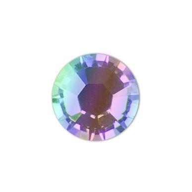 Strasszkő SS8 001AB Crystal Aurora Boreale - nagyobb kiszerelés!