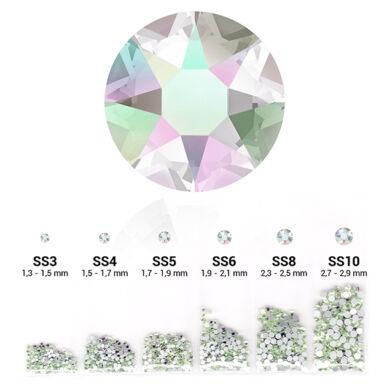 6in1 strasszkő szett - Crystal Aurora Boreale