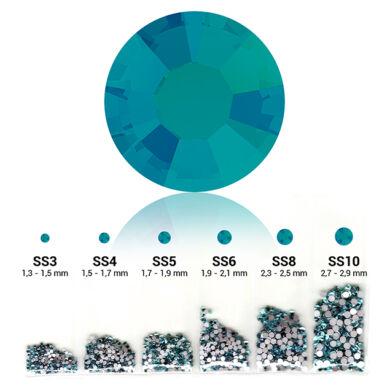6in1 strasszkő szett - Blue Zircon