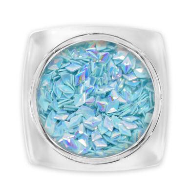 3D Gyémánt flitter - kék G8