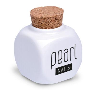 Pearl Nails porcelán likvidtartó tégely fehér