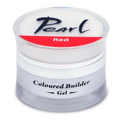 Pearl Nails Színezett építő zselé Piros 15ml