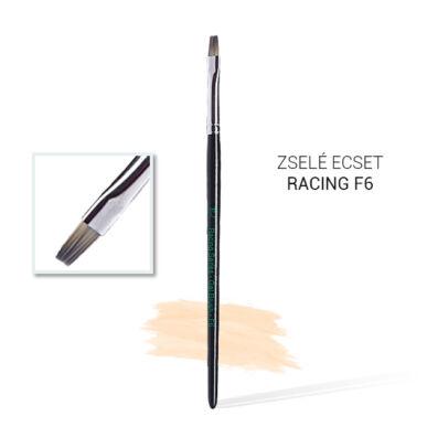 Pearl Nails Racing F6 #6-os építő zselé ecset