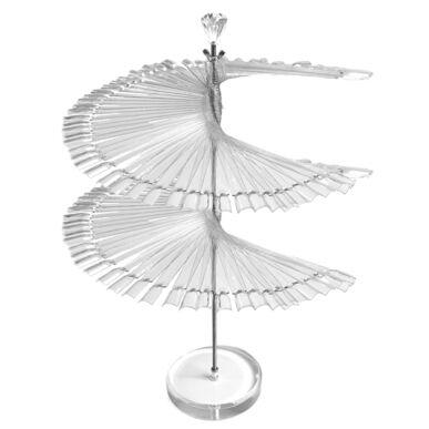 Pearl Nails spirál alakú tip színpaletta 120 színhez