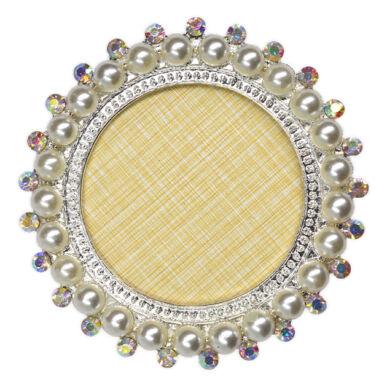 Pearl Nails Tiptartó display keret - gyöngyös, kerek