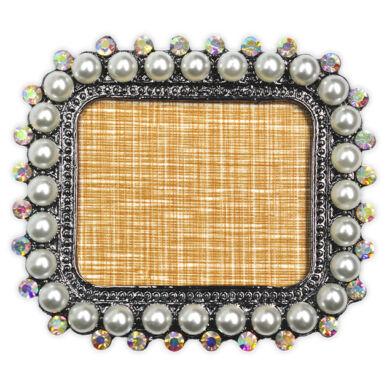 Pearl Nails Tiptartó display keret - gyöngyös, téglalap