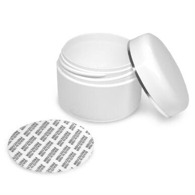 Kozmetikai tégely - fehér - 35ml