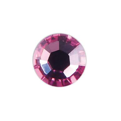 Pearl Nails rózsaszín strasszkő SS8 20db