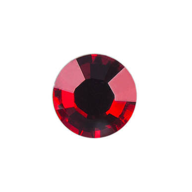 Pearl Nails vörös strasszkő SS8 20db