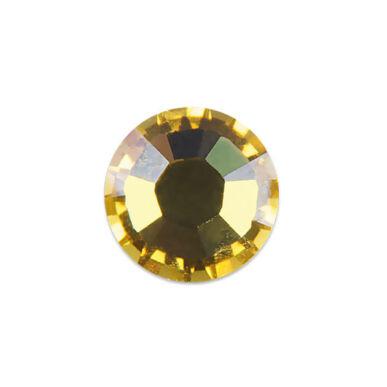 Pearl Nails sárga strasszkő SS8 20db