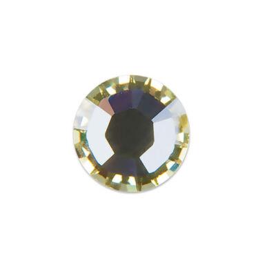 Pearl Nails halvány sárga strasszkő SS8 20db
