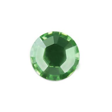 Pearl Nails zöld strasszkő SS10 20db