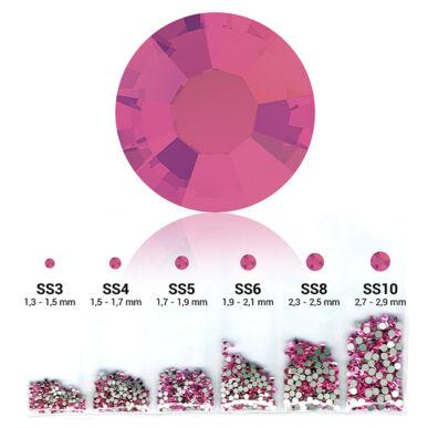 Rózsaszín 6in1 Strasszkő szett - 6 méret
