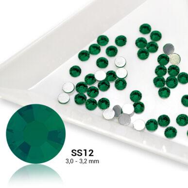 Pearl Nails zöld strasszkő SS12 50db