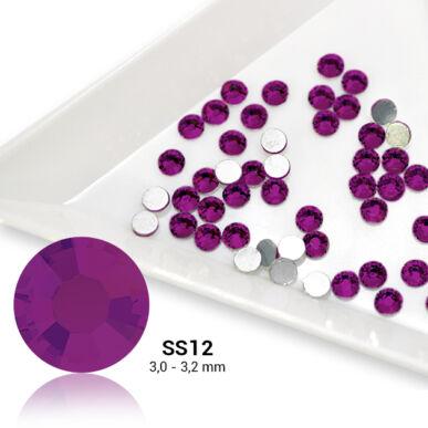 Pearl Nails lila strasszkő SS12 50db