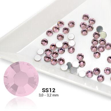 Pearl Nails világos rózsaszín strasszkő SS12 50db