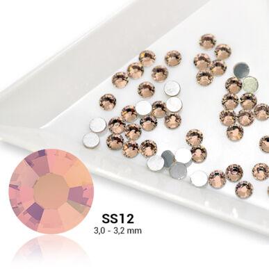 Pearl Nails barack strasszkő SS12 50db