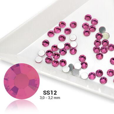 Pearl Nails rózsaszín strasszkő SS12 50db