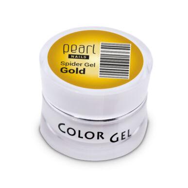 Pearl Nails Spider Gel arany díszítő zselé