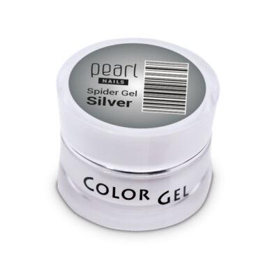 Pearl Nails Spider Gel ezüst díszítő zselé