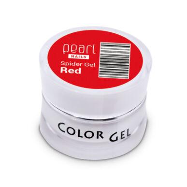 Pearl Nails Spider Gel piros díszítő zselé