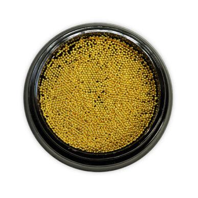 Pearl Nails Szórógyöngy arany, apró méretű