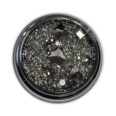 Diamond szórógyöngy-mix - GRAPHITE