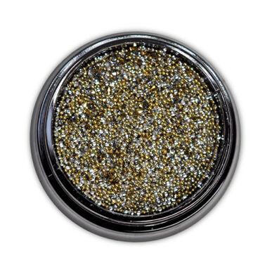 Diamond szórógyöngy-mix - SILVER-GOLD