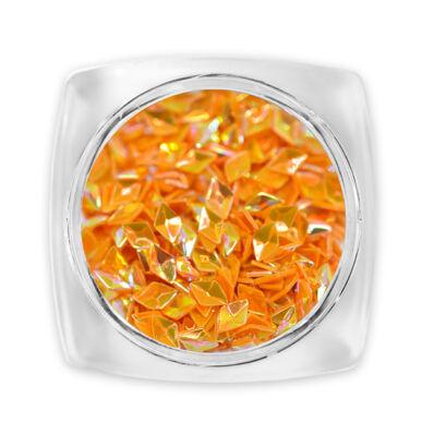 3D Gyémánt flitter narancssárga G2
