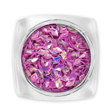 3D Gyémánt flitter lila G3