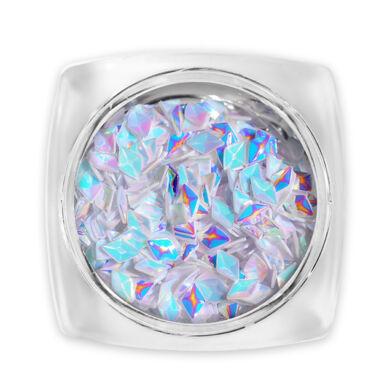 3D Gyémánt flitter orgonalila g9