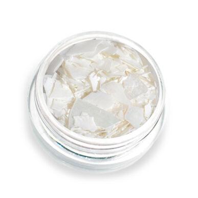 Pearly flakes fehér P1 kagylólapszelet