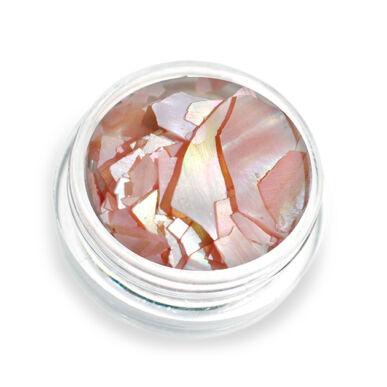 Pearly flakes rózsaszín P5 kagylólapszelet körömdísz