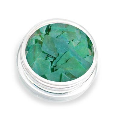 Pearly flakes zöld P7 kagylólapszelet körömdísz