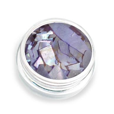 Pearly flakes lila P8 kagylólapszelet körömdísz
