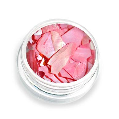 Pearly flakes piros P9 kagylólapszelet körömdísz
