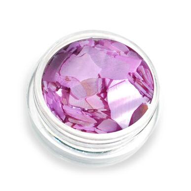Pearly flakes violet P10 kagylólapszelet körömdísz