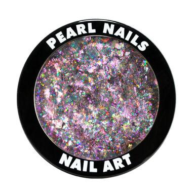 Galaxy Metal Flakes - Pink körömdíszítő chrome flakes