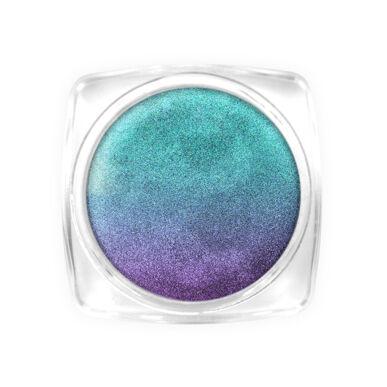 5D Galaxy Cat Eye Powder - Purple-green mágneses por