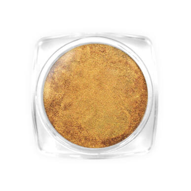 Holo Laser Effect Powder - Gold effekt por