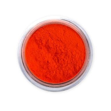 Neon Orange pigmentpor - Pearl Nails