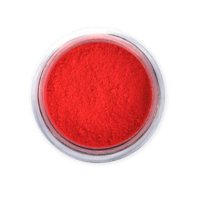 Neon coral pigmentpor - Pearl Nails