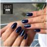 Kék körmök Pearl Nails 1324 fixálásmentes színes zselével